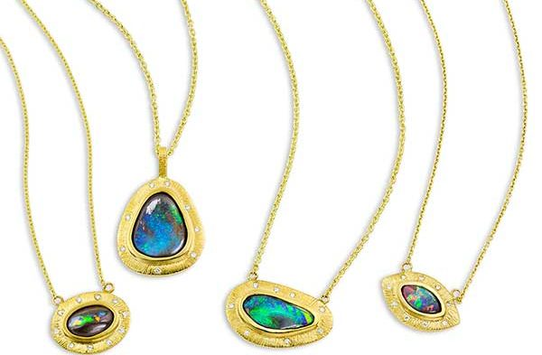 Photo of Beautiful Opal Pendants